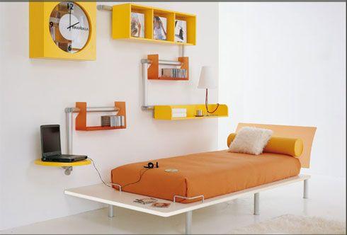 Çocuklar için Renkli Yatak Odası
