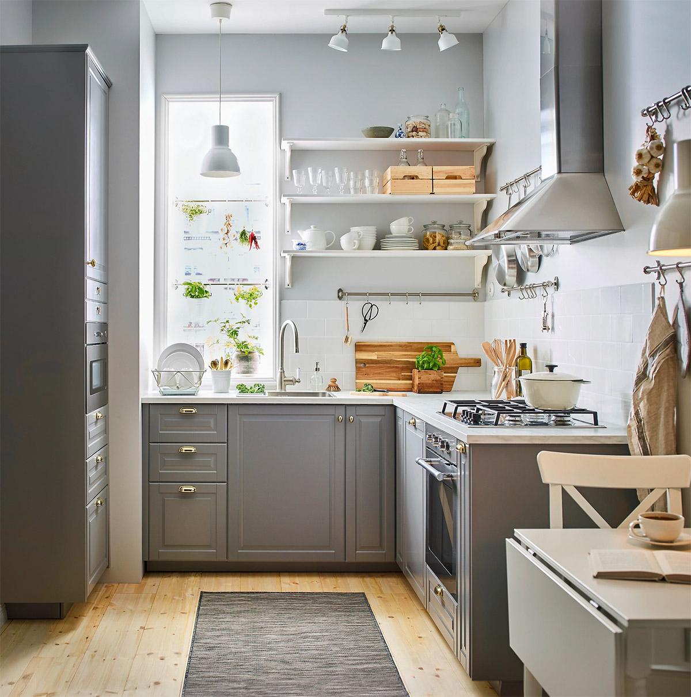 Güzel L-Şekilli Mutfak Tasarımları ve Onlardan Kullanabileceğiniz İpuçları