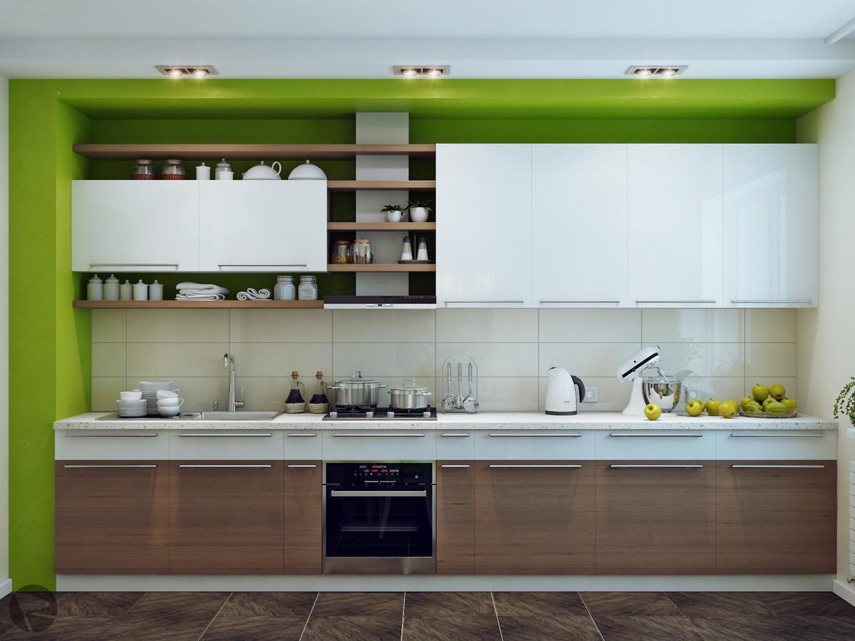 Muhteşem Yeşil Mutfak Tasarımına Yardımcı Olmanın Yolları