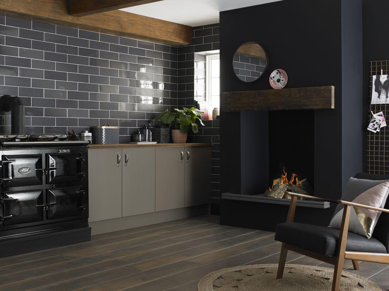Mutfak için dekoratif etki yaratan fayanslar