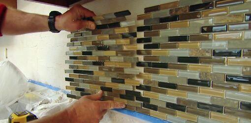 cam mozaik nasıl döşenir